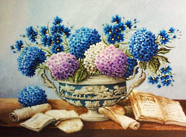 Quadri Con Ortensie : I fiori di fiorenza righetti rigoglio vita attesa