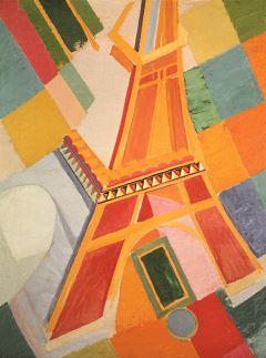 Robert Delaunay -Tour Eiffel 1924-26 - Washington - Hirshhorn