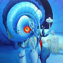 Ins Blaue Hinein - Opera dell'artista Symona Colina