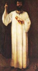 Ritratto del gran maestro  della Rose Croix - Jean Delville